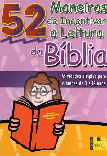 Livro 52 Maneiras de incentivar a leitura da Bíblia (Nancy