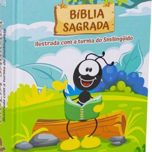 Bíblia Sagrada ilustrada com a turma do Smilingüido