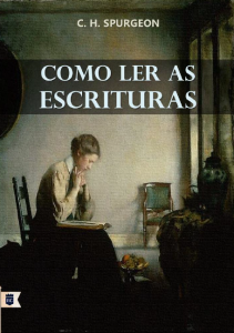 Como ler as Escrituras (Charles Haddon Spurgeon)