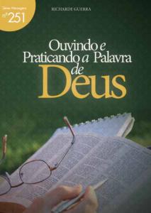Ouvindo e praticando a Palavra de Deus (Richarde Guerra)