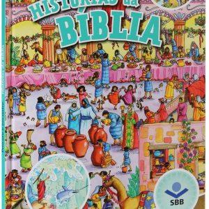 Procure e encontre histórias da Bíblia