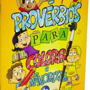 Provérbios para colorir e memorizar