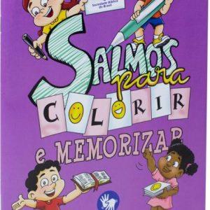 Salmos para colorir e memorizar